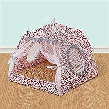 JSJJAOL pet bed Household Goods Pet Tent Portable