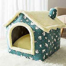 JSJJAOL pet bed Removable Cat Bed House Kennel