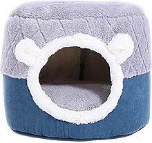 JSJJAOL pet bed Winter Warm Cat Bed House Kennel