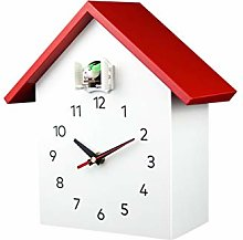 JSJJAQA Wall clock Cuckoo Quartz Wall Clock Modern