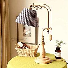 JSJJATQ Table lamp American Style Rural Desk Lamp
