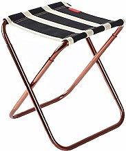 JSJJAUJ camping chairs Folding Stool Aluminum