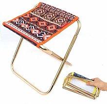 JSJJAUJ camping chairs Outdoor folding stool