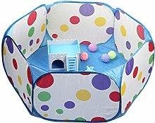 JSJJAUJ pet bed Dot Portable Foldable Pet Fence