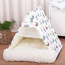 JSJJAUJ pet bed Pet Dog Bed Tent for Small Medium