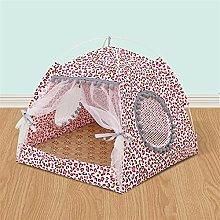 JSJJAUJ pet bed Pet tent cat litter kennel teddy
