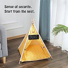 JSJJAUJ pet bed Pet Tent House Cat Bed Portable