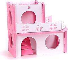 JSJJAUJ pet bed Small Animal Pet Hamster House