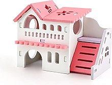 JSJJAUJ pet bed Wooden Hamster Nest Sleeping House