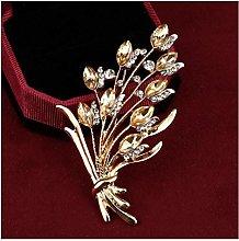 JSJJRGB brooch Crystal Large Brooches Imitation
