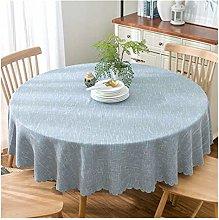 JSJJWSX Pastoral round tablecloth tablecloth,