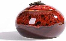 Jsmhh Ceramic Tea Jar Vintage Chinese Style