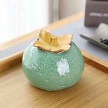 Jsmhh Cute Ceramics Dampproof Tea Caddies, Food
