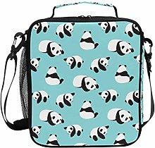 JSTEL Lunch Bag Cute Panda Handbag Lunchbox Food