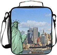 JSTEL Lunch Bag New York Statue of Liberty Handbag
