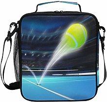 JSTEL Lunch Bag Tennis Ball Ace Handbag Lunchbox