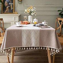 Jstoo Dining Table Cloth Modern Minimalist