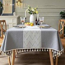 Jstoo Table Cloth Modern Minimalist Tablecloth