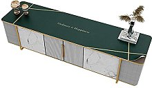 Jstoo Table Cover Leather Tv Cabinet Pad