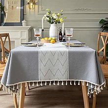 Jstoo Table Cover Modern Minimalist Tablecloth