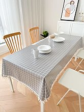 Jstoo Table Cover Wipe Clean Vinyl Waterproof And