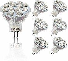 JSVSAL (Pack of 6) 3W LED MR11 GU4 Blue Light