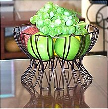 JT- Fruit Plate Wrought Iron Fruit Basket Kitchen