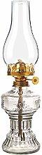 Jtivcs Vintage Glass Kerosene Lamp Classic Retro