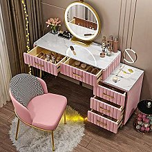 JTN Vanity Desk For Bedroom Home Velvet Decor