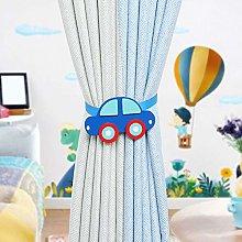 JTRHD Curtain Holdbacks Curtains With Cartoon