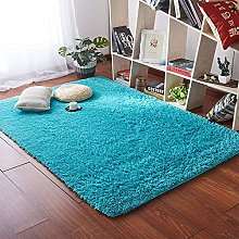 JTYX Simple Modern Solid Color Carpets Thick