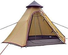 JTYX Waterproof Camping Pyramid Teepee Tent Adult