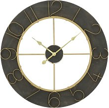 Juan Oversized 90cm Wall Clock Rosalind Wheeler