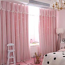 JUANstore Curtains Solid Color High-Precision