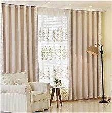 JUANstore Curtains Super Soft with Border