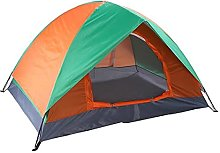 JUBANGLIAN 2-Person Double Door Camping Dome Tent