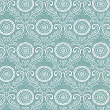 Jubilee 10.05m x 52cm Damask Roll Wallpaper East