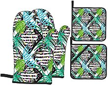 Judascepeda Oven Mitts and Pot Holders Sets of