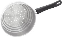 Judge 2-in-1 Steamer Colander, Silver, 2 cm