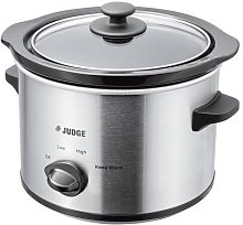 Judge JEA34R Electrical Slow Cooker 1.5L 120W with