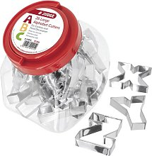 Judge Kitchen 26 Piece Alphabet Cutters