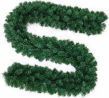 Judy1980 270cm Christmas Garland Decorations Green