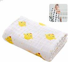 JUEJIDP Baby Unisex Muslin Swaddle Blanket