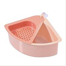 JUHON Double-layer Sink Drain Shelf,triangular