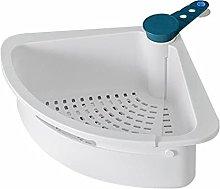 JUHON Kitchen Triangular Sink Strainer,rotary