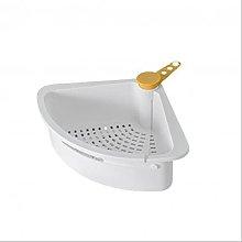 JUHON Sink Drain Shelf,triangular Sink Strainer