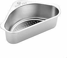 JUHON Stainless Steel Sink Drain Shelf,triangular