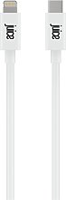Juice 2m Lighting to Type C Charge Cable - White