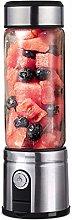 Juicer, rechargeable portable USB fruit blender
