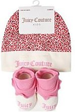 Juicy Couture Baby Girls Hat And Socks Gift Set -